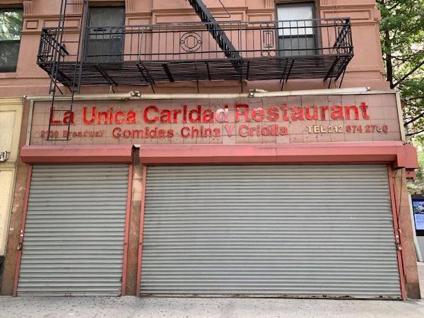 La Caridad closed