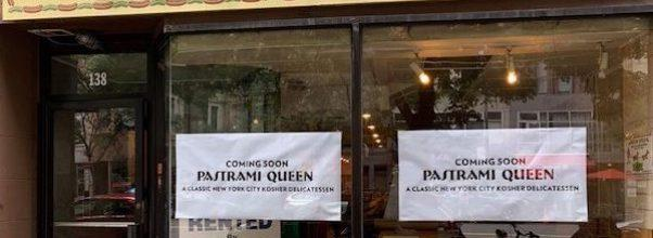 Pastrami Queen Opening Upper West Side Location