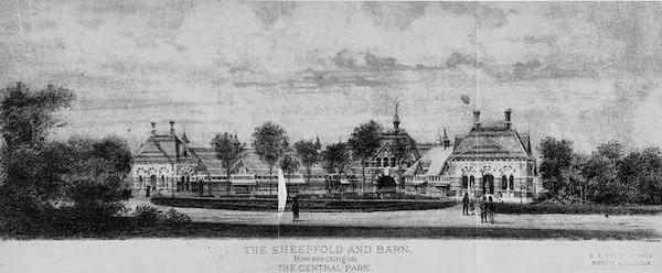 Sheepfold Tavern on the Green Central Park NY