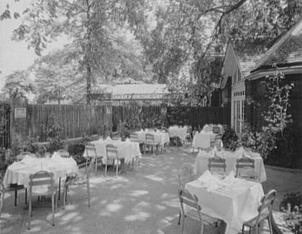 Tavern Green Garden 1944