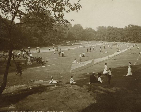 tennis courts central park