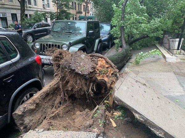 Tropical Storm Isaias NYC