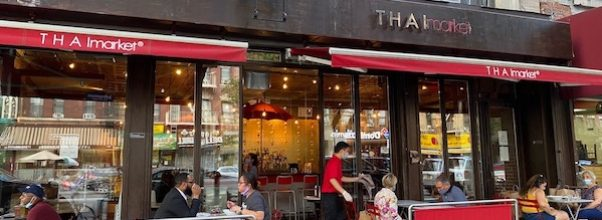 Open Street Dining on Amsterdam Ave Starts August 8