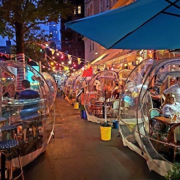 Cafe du Soleil outdoor dining