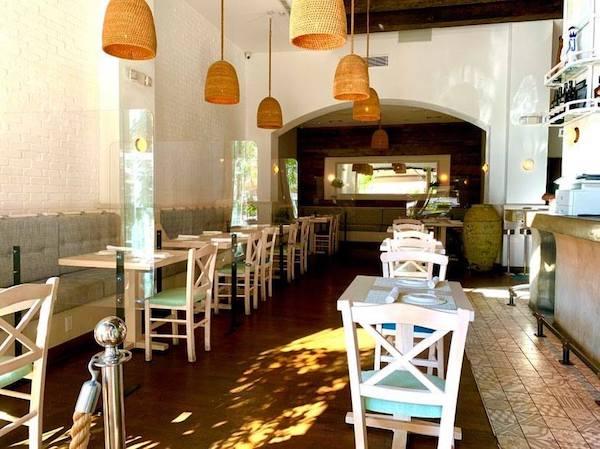 Elea indoor dining