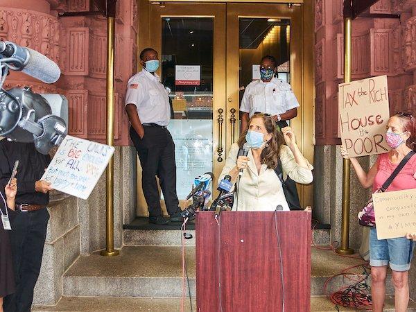 Helen Rosenthal Lucerne Protest