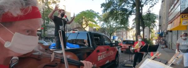 "NY Philharmonic Launches ""Mobile Bandwagon"""