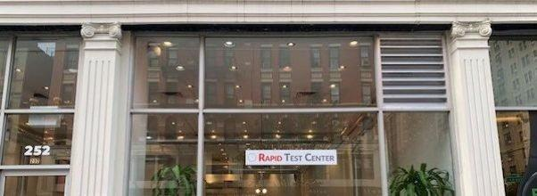 COVID-19 Rapid Testing Center Opens at 72nd and Columbus