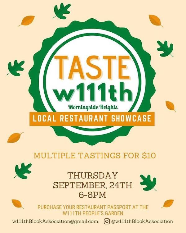Taste West 111th Street