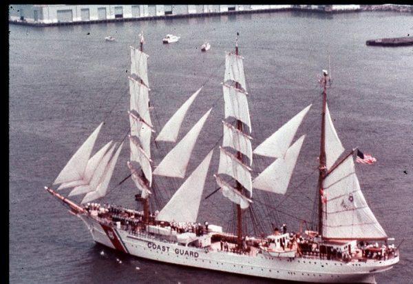 US Coast Guard Eagle 1976