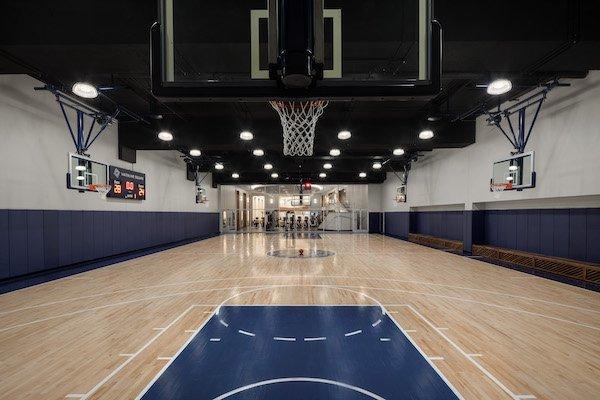 basketball court waterline square UWS