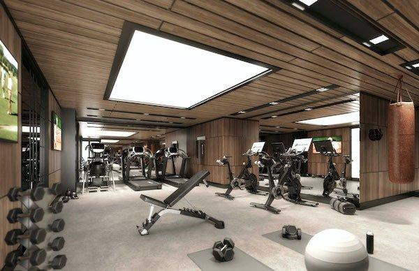 fitness center harlem condo