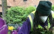 Green Keepers Help Clean Up Riverside Park
