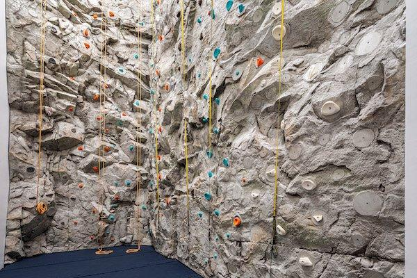 rock climbing wall waterline square NYC