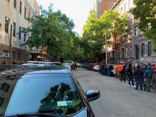 20th Precinct Protest NYC