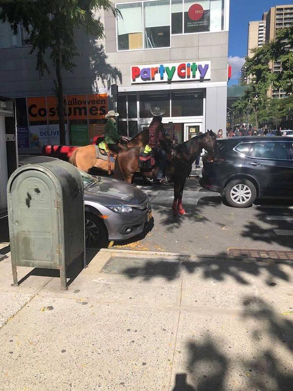 Horseback riding Upper West Side
