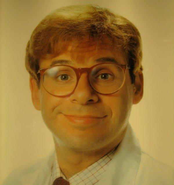 Rick Moranis punched in head