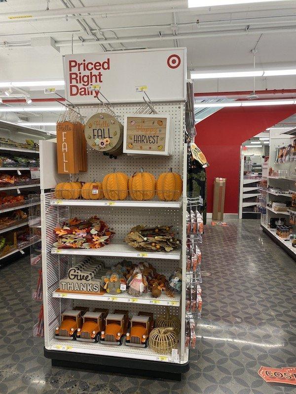 Target Seasonal Section