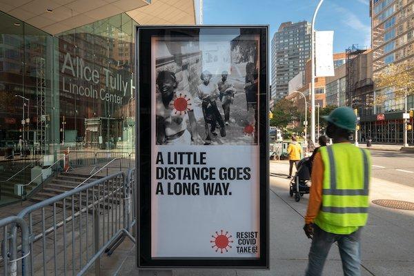 new public art installation Lincoln Center