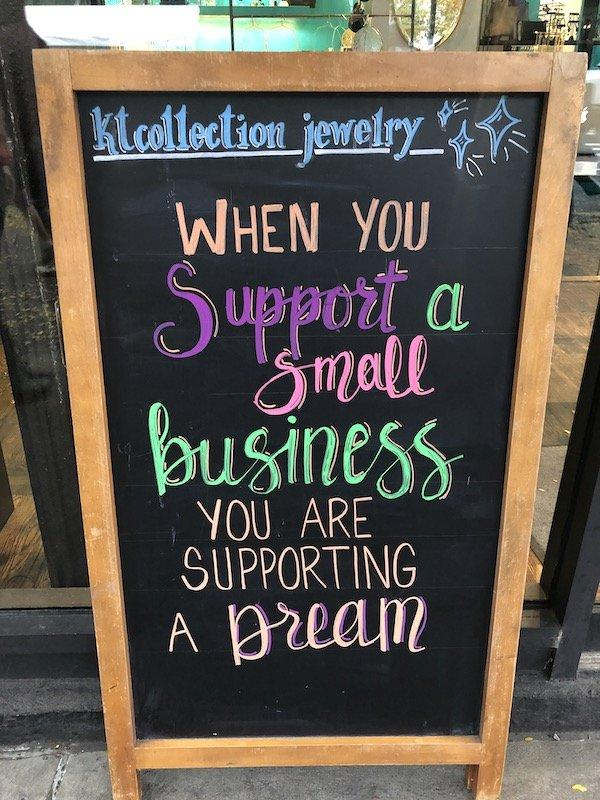 shop local UWS