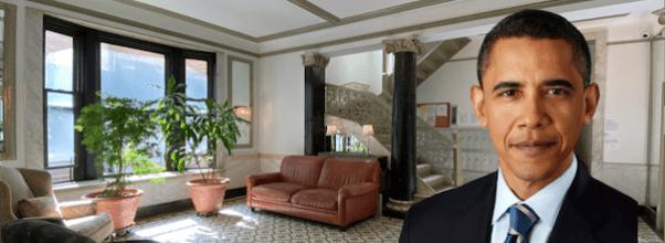 Barack Obama college apartment