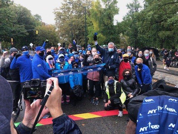 De Blasio Marathon 2020