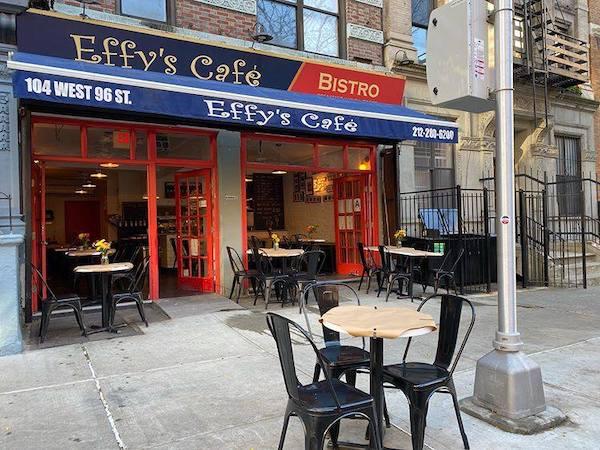 Effy's Cafe 104 West 96th Street