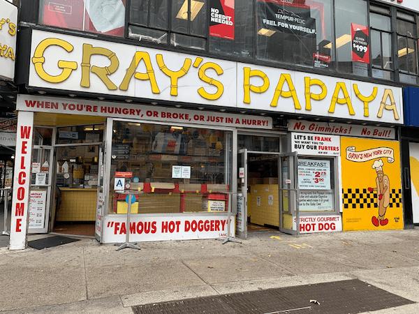 Gray's Papaya Seinfeld