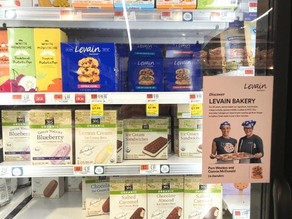 Levain Bakery Freezer Section