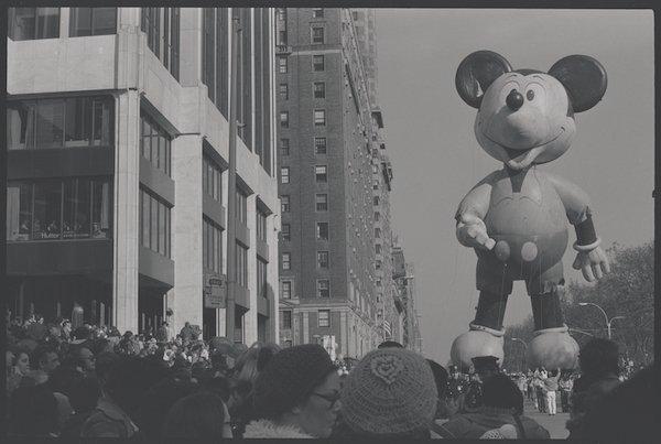 Mickey Mouse Balloon Thanksgiving Day Parade