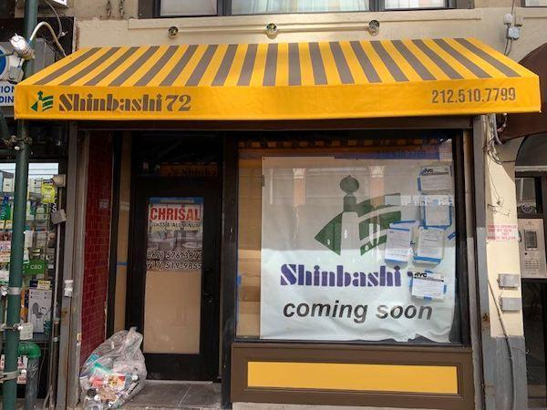 Shinbashi 72 opening