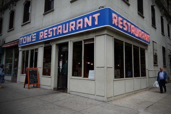 Tom's Restaurant Seinfeld