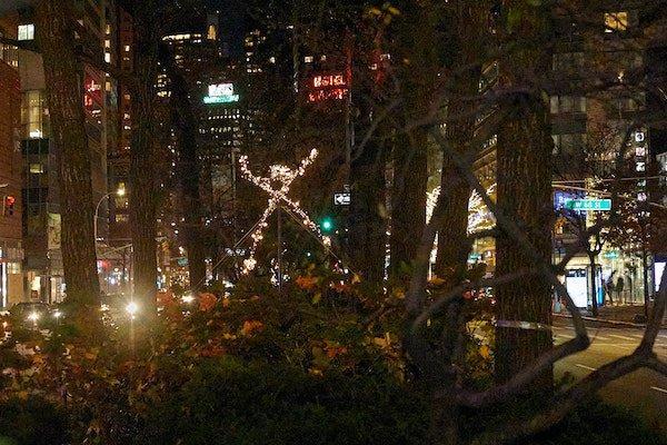 Holiday Lights Upper West Side 2020