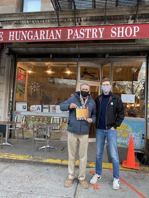 Jim Mackin Hungarian Pastry Shop