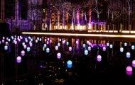 An Incredible Light Display at Lincoln Center!