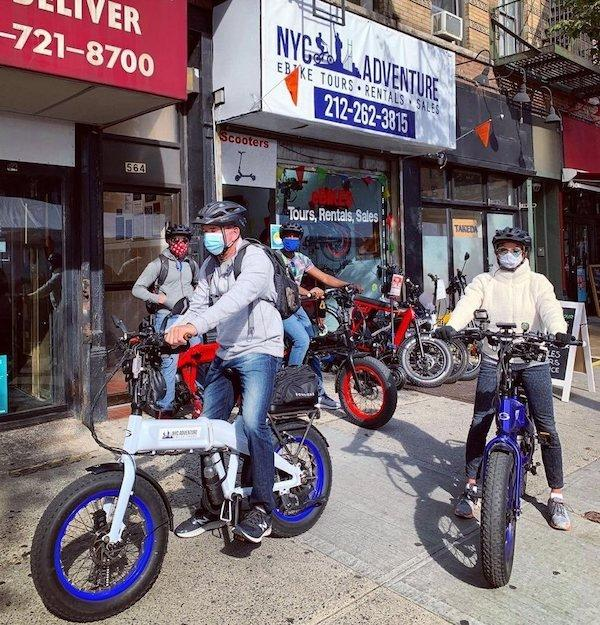 NYC Adventure eBike Tours