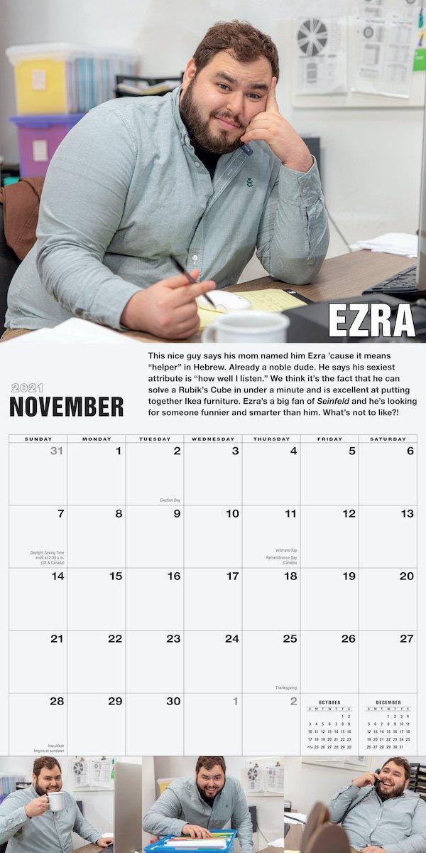 Nice Jewish Guys Wall Calendar