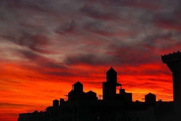 Sunday night sunset