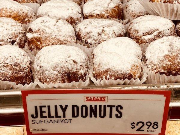 Zabar's Jelly Donuts Hanukkah NYC