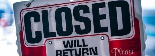 More Temporary Bar & Restaurant Closures