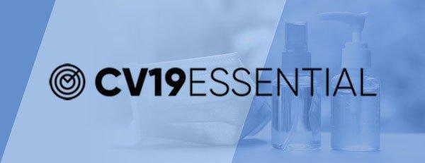 logo cv19 essential
