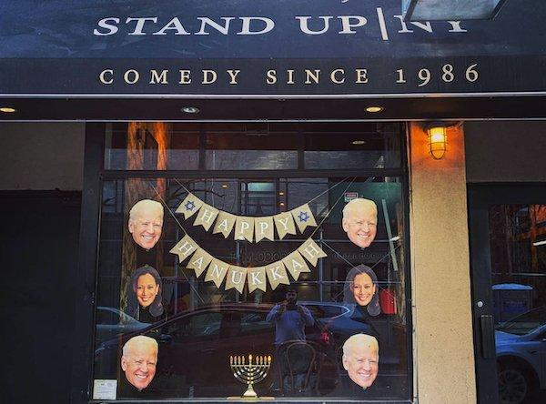 stand up ny vandalized