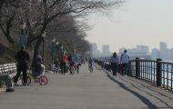 Cherry Walk Riverside Park NYC