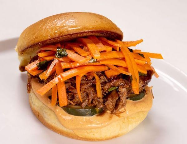 King Wang's Pulled Pork Sandwich