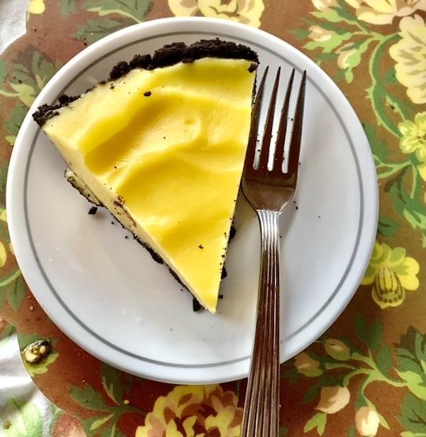 Lemon Ginger Icebox Pie
