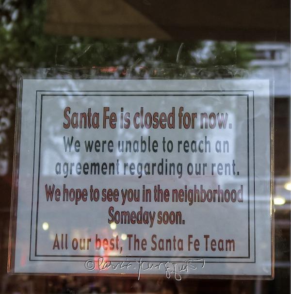 Santa Fe closes