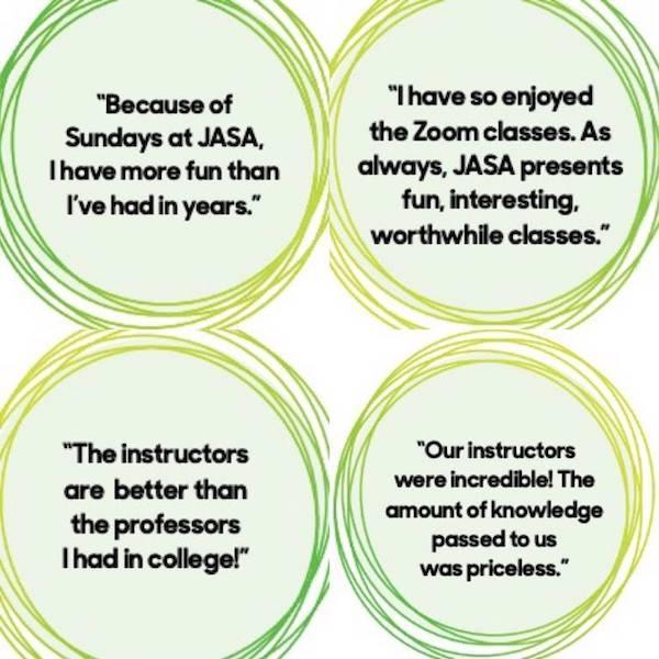 Sundays at JASA reviews
