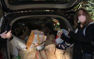 Couple Collects Donated Food From UWS Buildings For Local Pantries