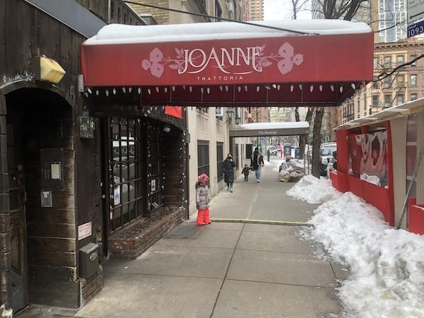 Joanne Trattoria Reopens