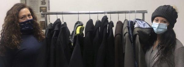 dry cleaning business launches coat drive